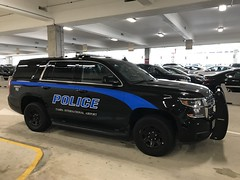 Tampa Airport Police Dept. cruiser