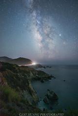 Stars at Coastline