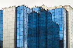 DSC_8259 geometric mirror reflection - modern architecture Manchester