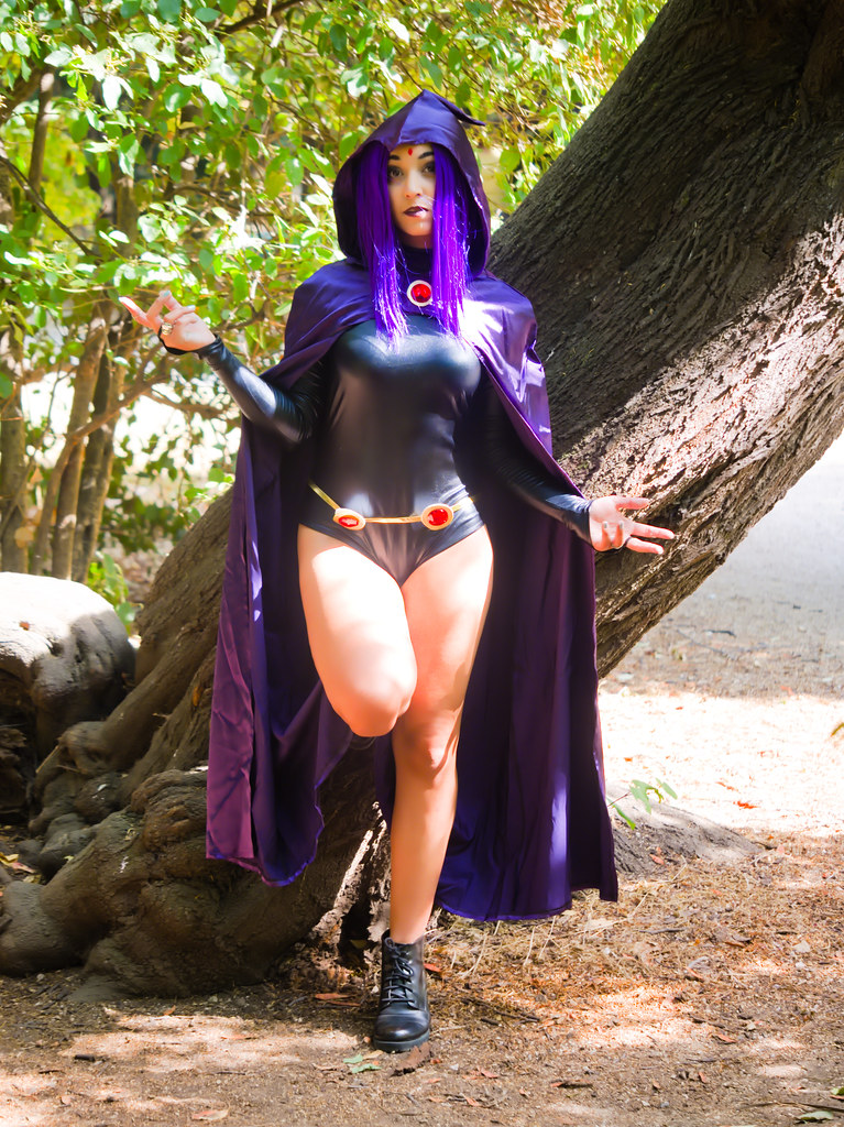 related image - Shooting Teen Titan - Fauve - Raven & Beast Boy - Jardin du Las - Toulon -2019-08-17- P1833281