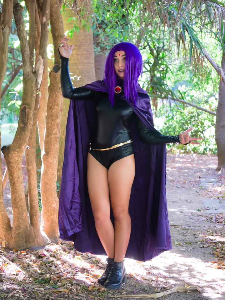 related image - Shooting Teen Titan - Fauve - Raven & Beast Boy - Jardin du Las - Toulon -2019-08-17- P1833302