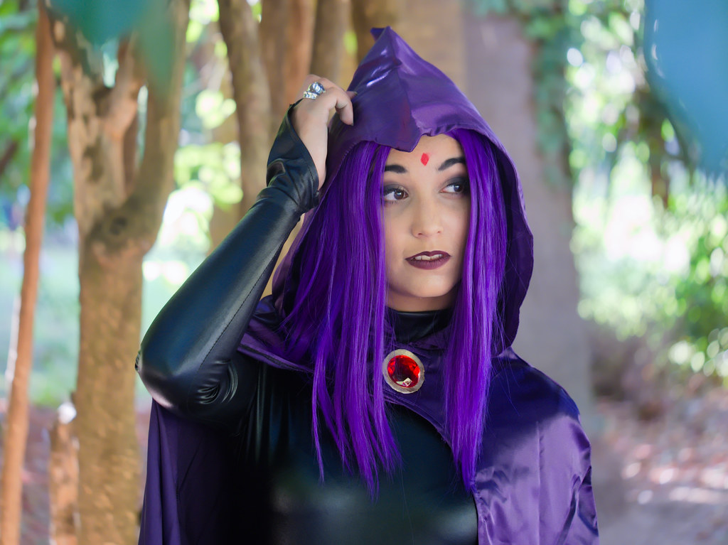 related image - Shooting Teen Titan - Fauve - Raven & Beast Boy - Jardin du Las - Toulon -2019-08-17- P1833317