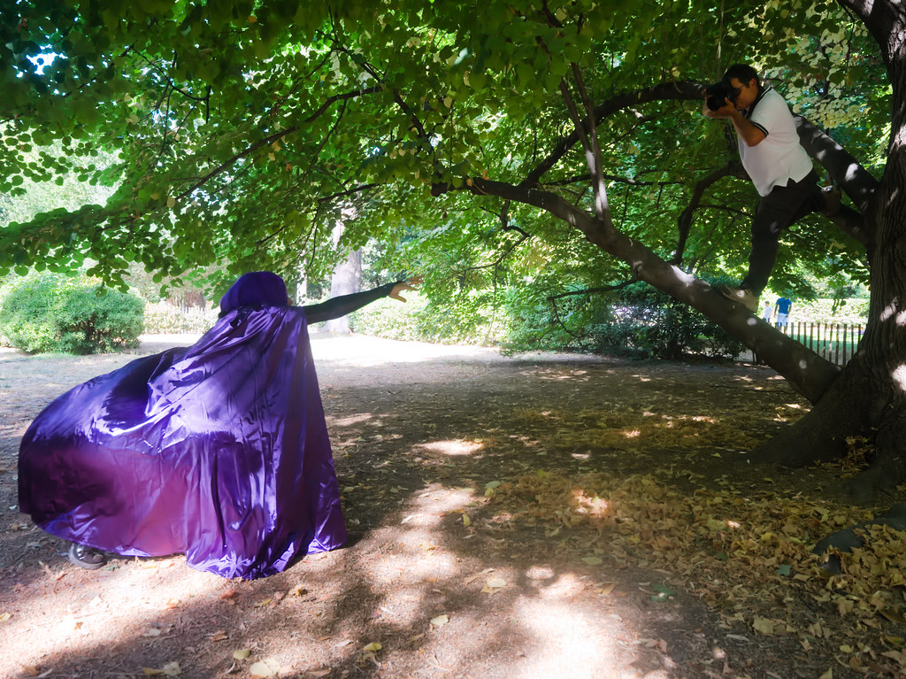 related image - Shooting Teen Titan - Fauve - Raven & Beast Boy - Jardin du Las - Toulon -2019-08-17- P1833328