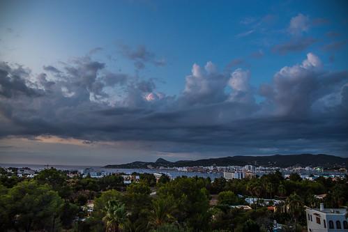 Clouds over san Antonio