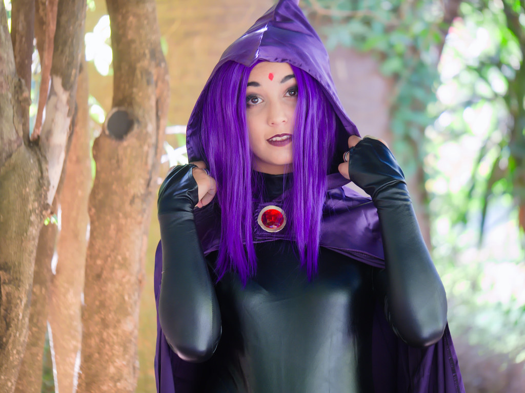 related image - Shooting Teen Titan - Fauve - Raven & Beast Boy - Jardin du Las - Toulon -2019-08-17- P1833304