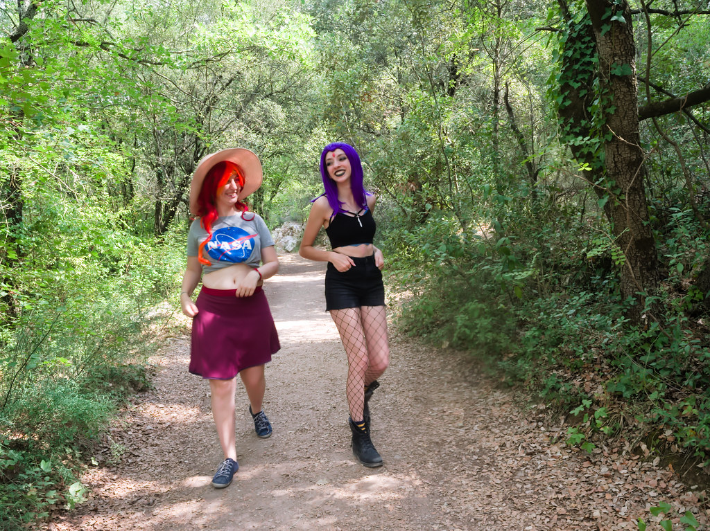 related image - Shooting Starfire & Raven - Teen Titans - Gorges du Caramy -2019-08-20- P1833441