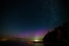 Northern Lights, Shooting Star, Milky Way