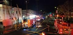 Firefighters Battle Through Heavy Smoke