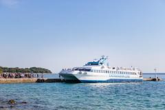 Ferry to Silba island, Croatia