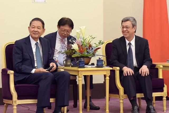 Photo:09.03 副總統接見「日本麻生集團」 By Taiwan Presidential Office