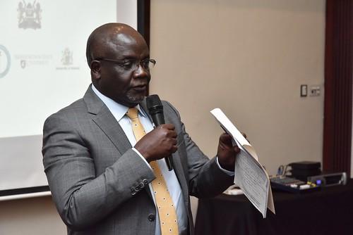 Harry Oyas, Directorate of Veterinary Services, Kenya