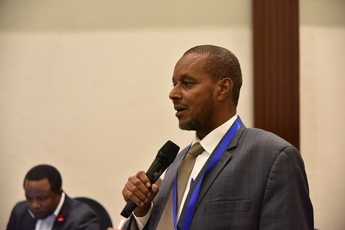 Yusuf Abdi Gedi, Wajir County Executive for Agriculture, Fisheries and Livestock
