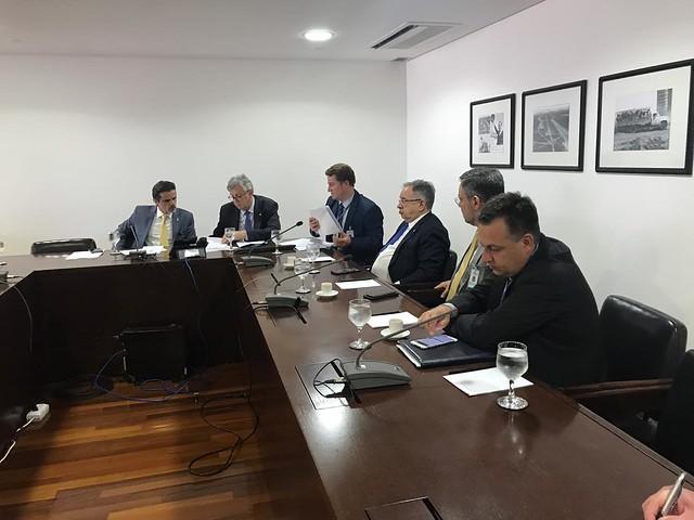 03/09/2019 Audiência Palácio do Planalto sobre projetos Minha Casa, Minha Vida - Santiago e Unistalda