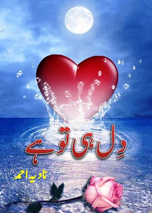 Dil Hi Tou Hai is a very well written complex script novel by Nadia Ahmad which depicts normal emotions and behaviour of human like love hate greed power and fear , Nadia Ahmad is a very famous and popular specialy among female readers
