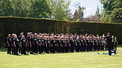 Rock Choir at Easton Lodge Gardens open day, Little Easton, Essex, England 01