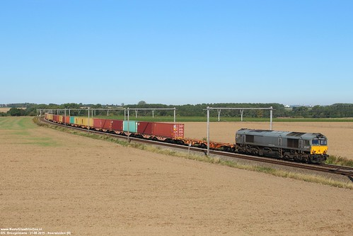 Crossrail DE 6307 - Neerwinden (B) 31-08-2019.