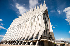 Air Force Academy Chapel August 2019 Colorado Springs