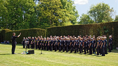 Rock Choir at Easton Lodge Gardens open day, Little Easton, Essex, England 05