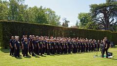 Rock Choir at Easton Lodge Gardens open day, Little Easton, Essex, England 04