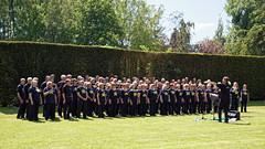 Rock Choir at Easton Lodge Gardens open day, Little Easton, Essex, England 02