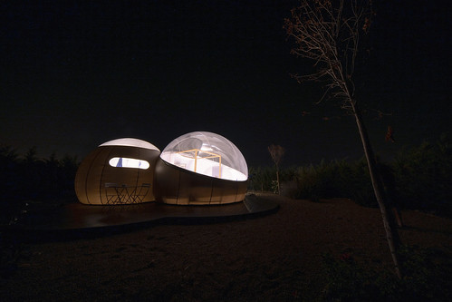 La burbuja en la noche