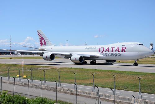 A7-BGB - Boeing 747-83Q(F) - Qatar Airways 🇶🇦 @ MXP