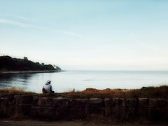 Sitting at Newton's Cove