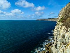 Swanage coast line