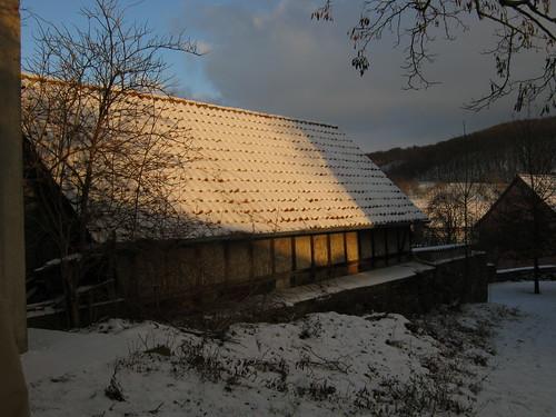 alte Scheune in Göllingen