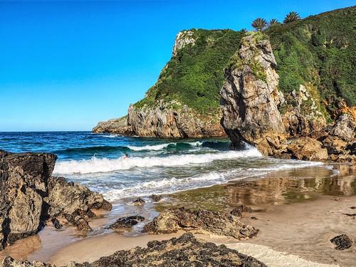 Playa de Amió. Pechón, Cantabria.
