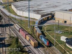 GTW 4930 | EMD GP38-2 | CN Memphis Subdivision