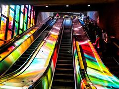 Charlevoix Station Escalators (Montreal)