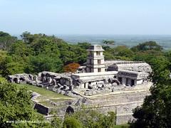 Maya-Tempel Palenque