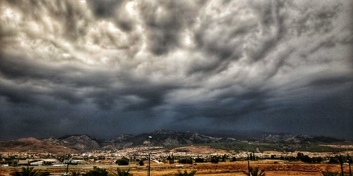 Tormenta sobre Granada.