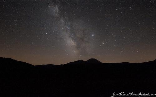Via Làctia sobre el Turbon