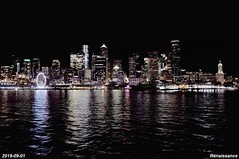 On the Seattle-Bainbridge ferry