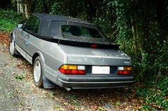 1993 Saab 900i rear