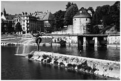 Besançon le long des quais - Photo of Grandfontaine
