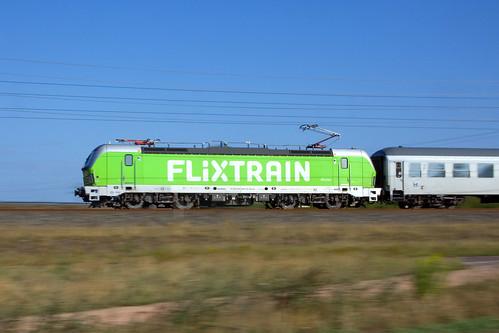 Flixtrain 193 990 + FLX27802  Berlin Südkreuz - Köln Hbf  - Langensalzwedel