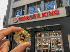 Burger King accepts Bitcoin in Germany