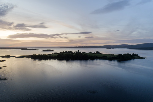 By dawn's early light. Lough Derg, Co. Clare