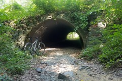 2019 Bike 180: Day 116 - Tunnel