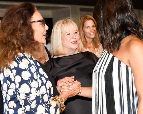 Diane Von Furstenberg and Couture Council Member Robin Burns-McNeill