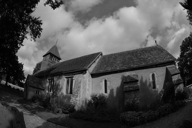 Ashampstead Church.