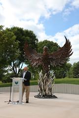 Phoenix Sculpture Dedication-11