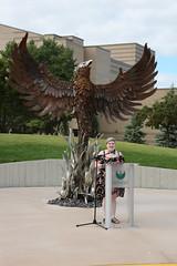 Phoenix Sculpture Dedication-2