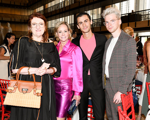 Glenda Bailey, Couture Council Board Member Yaz Hernandez and Guests