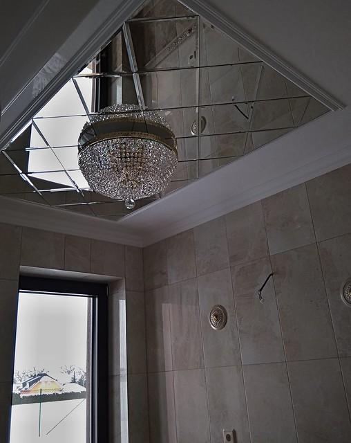 luxusni stropní zrcadlo skládané