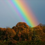 Autumn Rainbow by John Russell