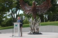 Phoenix Sculpture Dedication-6